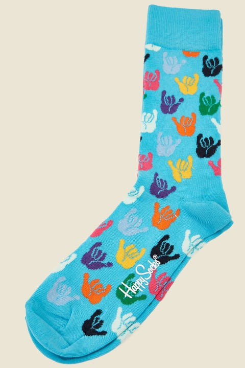 HAPPY SOCKS Hang Loose Sock Teal