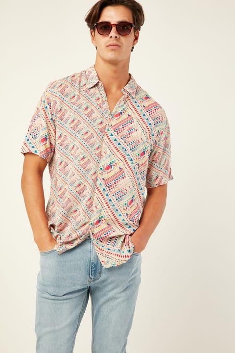 BARNEY COOLS Holiday SS Shirt Summer Boho