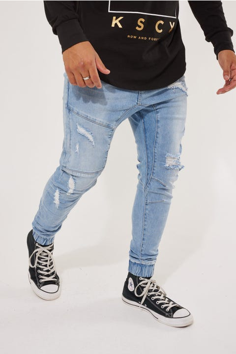 Kiss Chacey Spartan Denim Jogger Horizon Blue