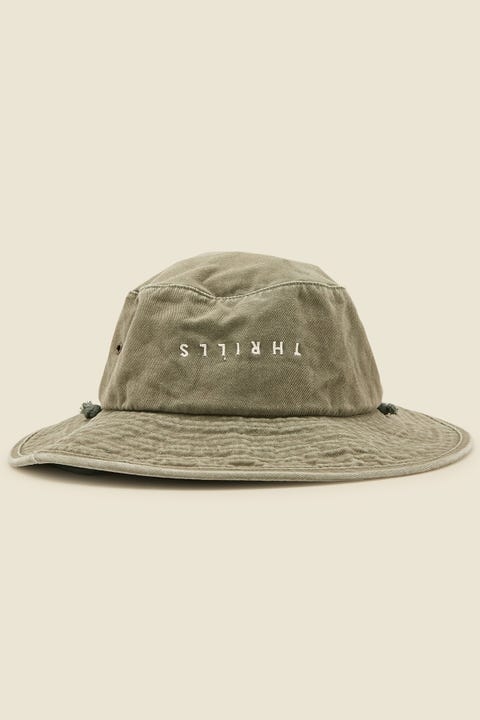 THRILLS Minimal Boonie Hat Army Green