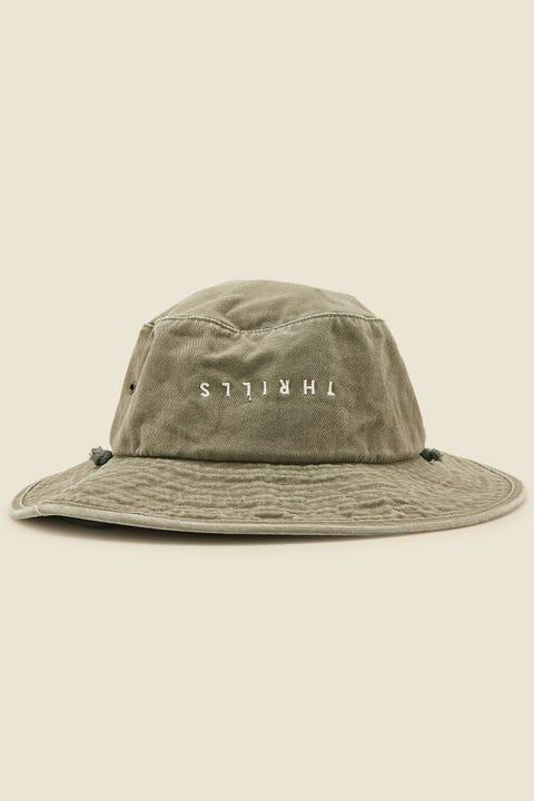 THRILLS Minimal Boonie Hat Army Green