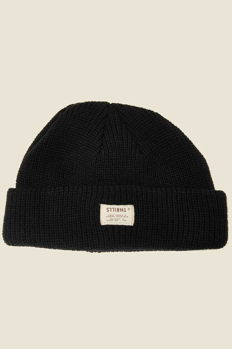 THRILLS Liberty Beanie Black
