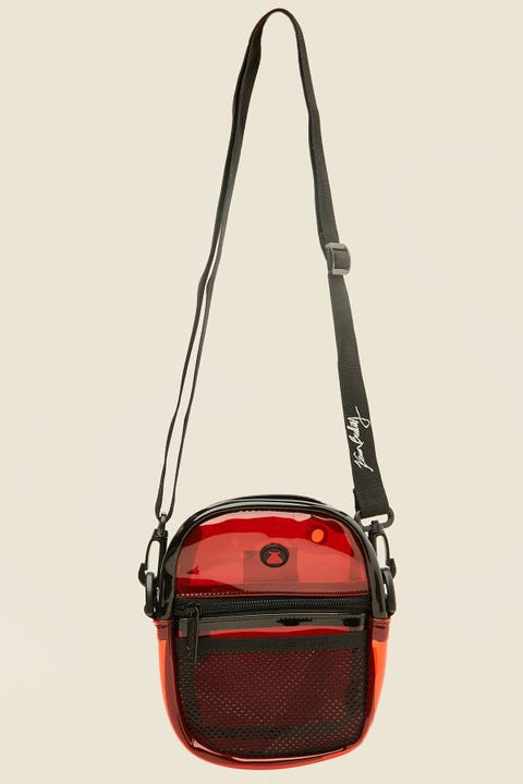 BUMBAG CO x Kevin Bradley Compact Transparent Red