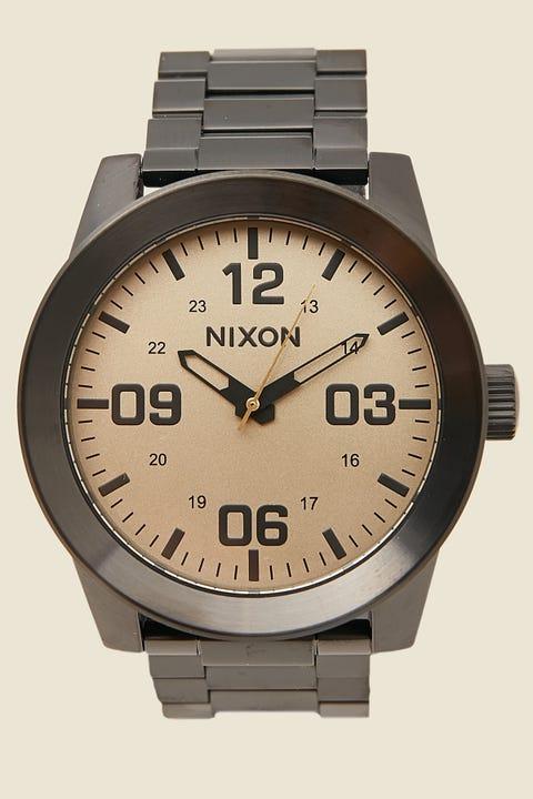 NIXON Corporal SS Black/Khaki