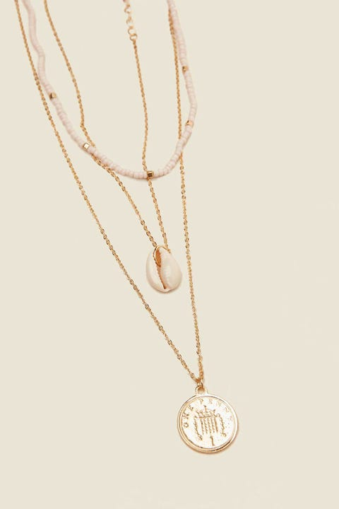 TOKEN Seaside Necklace Gold