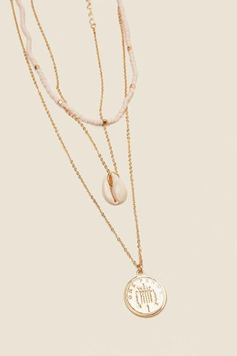 TOKEN Seaside Necklace Gold