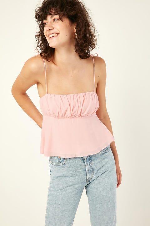 PERFECT STRANGER Fairness Cami Top Pink