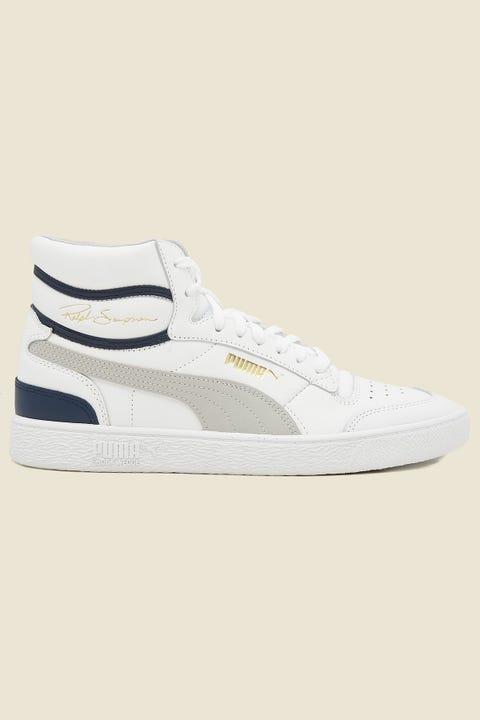 Puma Mens Ralph Sampson Mid White/Grey/Peacoat