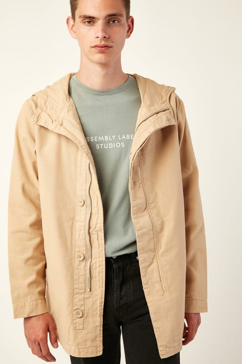 ASSEMBLY Frontier Canvas Parka Dover