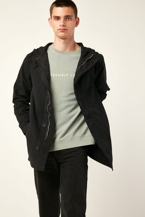 ASSEMBLY Frontier Canvas Parka Black