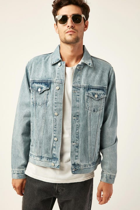 ASSEMBLY Renton Denim Jacket Stone Blue