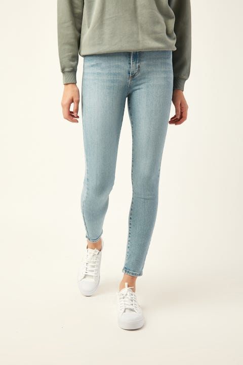 NOBODY DENIM Siren Skinny Ankle Lighter