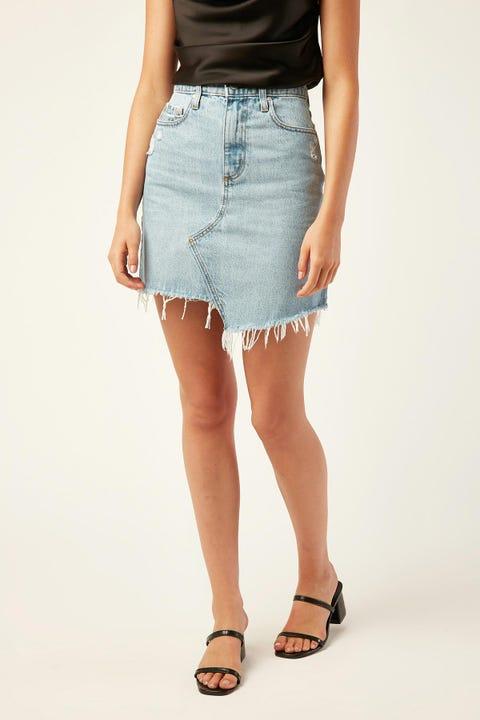 Nobody Denim Piper Skirt Revived