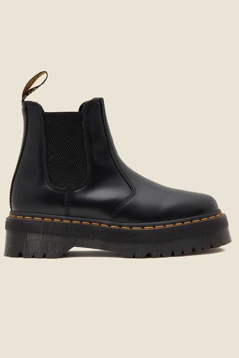 DR MARTENS 2976 Quad Chelsea Boot Black Smooth