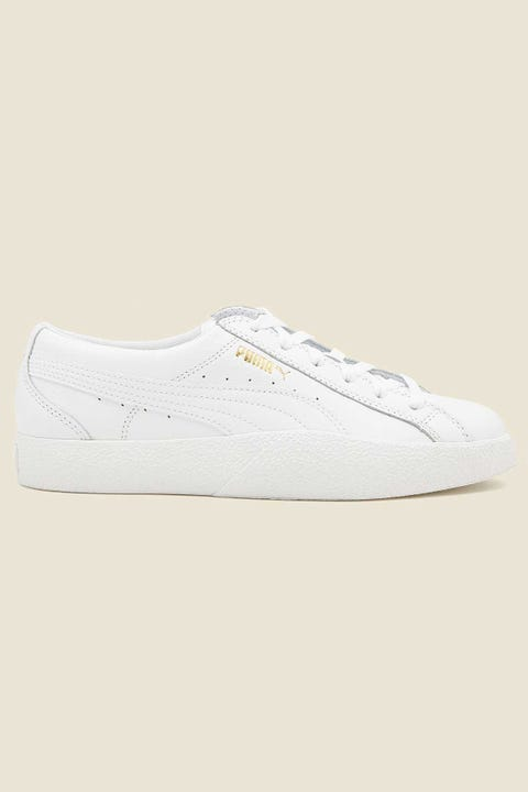 Puma Womens Love Tumble Leather White/White