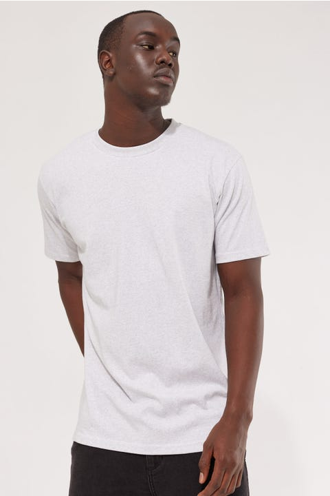 As Colour Classic Tee White Marle