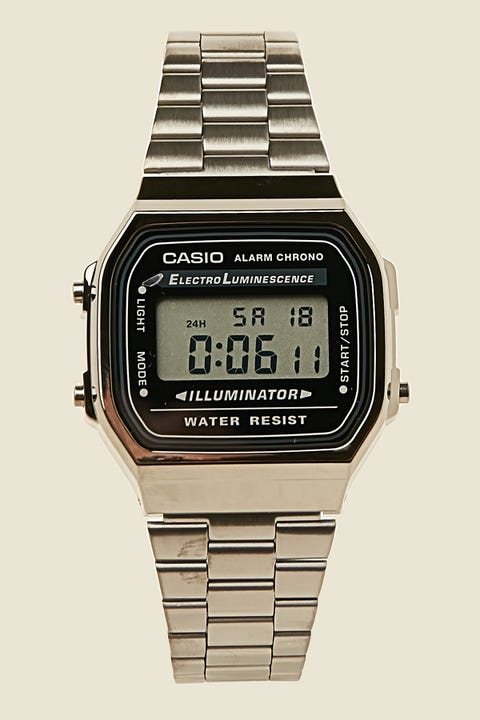 Casio Vintage Digital A168 Gunmetal