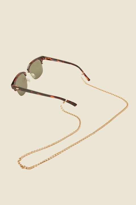 Common Need Sunglasses Chain Gold