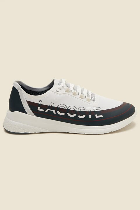LACOSTE Mens LT Fit Navy/White/Red