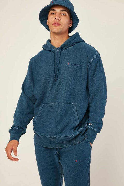 Champion Reverse Weave Rebound Terry Hoodie Classic Washed