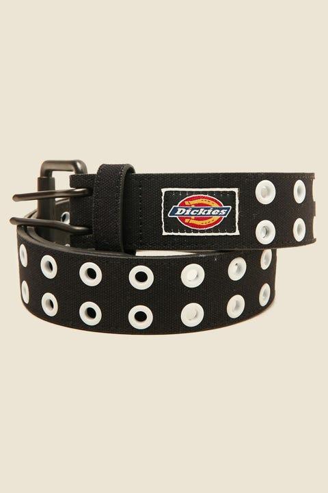 DICKIES Eyelet Belt Black