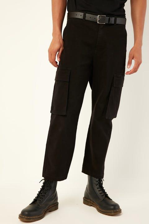 COMMON NEED Skate Cargo Pant Black