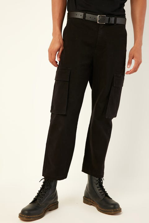 COMMON NEED Skate Cargo Pant Black