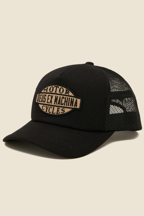 DEUS EX MACHINA Coatarms Trucker Black