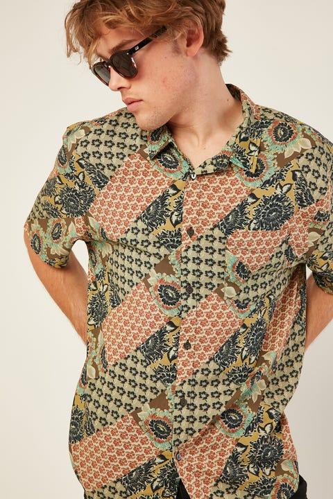 WRANGLER Garageland Shirt Gypsy Road
