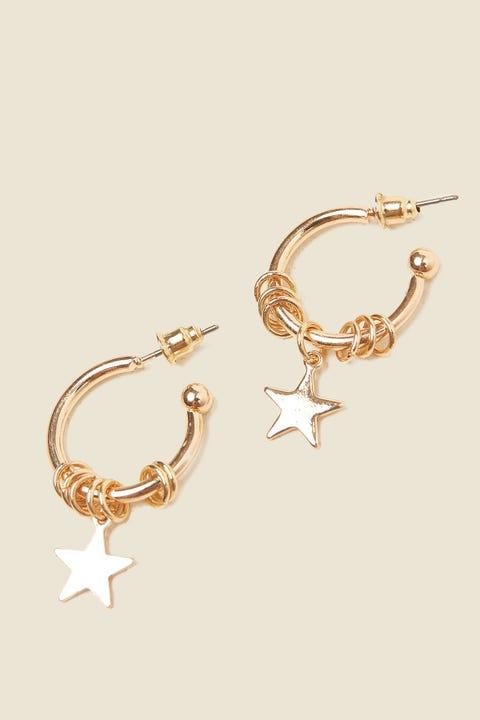 TOKEN Starry Earring Gold