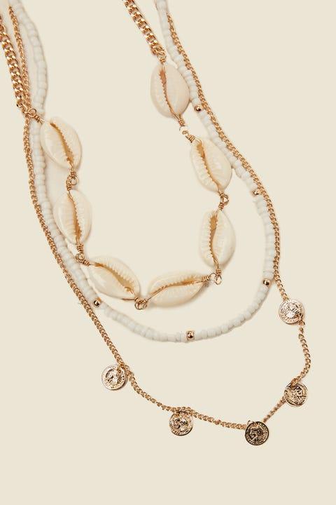 Token Barbados Necklace Multi