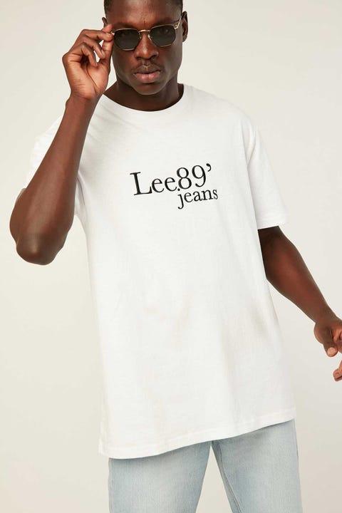 Lee Lee 89 Tee White