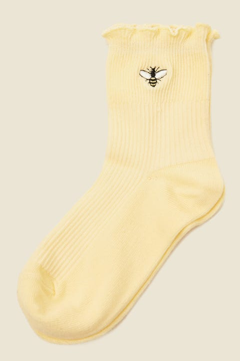 TOKEN Honey Bee Sock Yellow