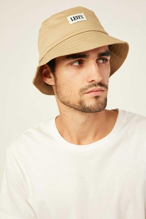Levi's Serif Bucket Hat Khaki