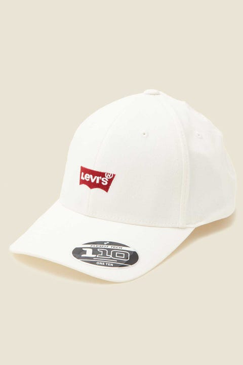 LEVI'S Mid Batwing Cap White