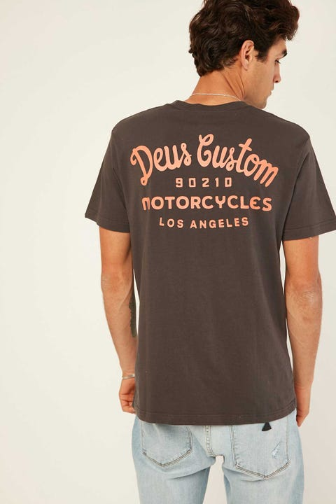 DEUS EX MACHINA Lansana Tee Phantom Black
