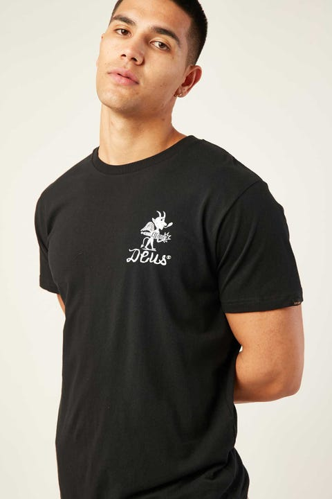 Deus Ex Machina Devil Venice Tee Black