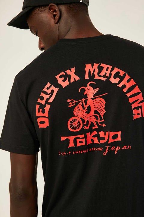 DEUS EX MACHINA Devil Tokyo Tee Black
