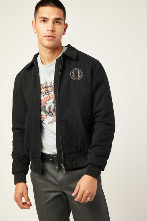 Deus Ex Machina Andre Workwear Jacket Black