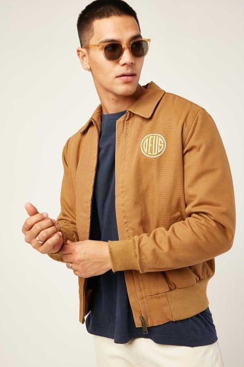 Deus Ex Machina Andre Workwear Jacket Bistre Tan