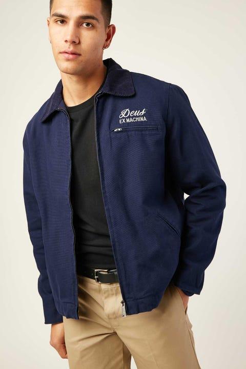 DEUS EX MACHINA Workwear Jacket Navy