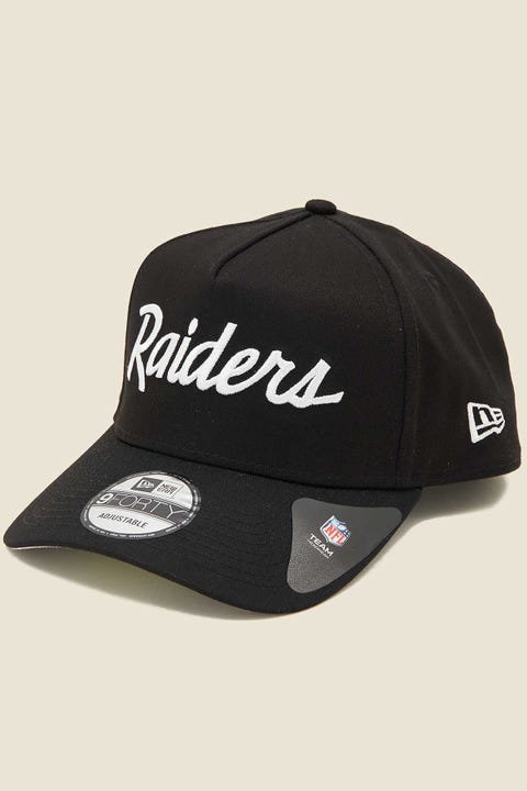 NEW ERA 9Forty A-Frame Snapback Oakland Raiders Black/Grey