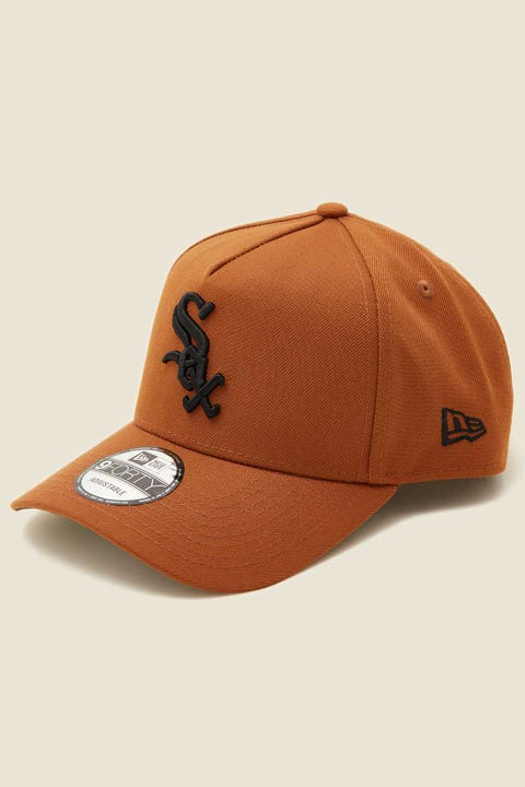 NEW ERA 9Forty A-Frame Snapback Chicago White Sox Toasted Peanut/Black