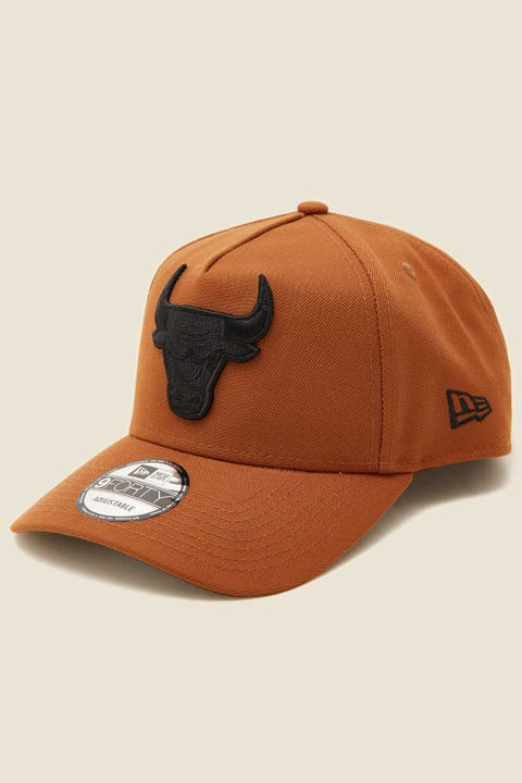 NEW ERA 9Forty A-Frame Snapback Chicago Bulls Toasted Peanut/Black