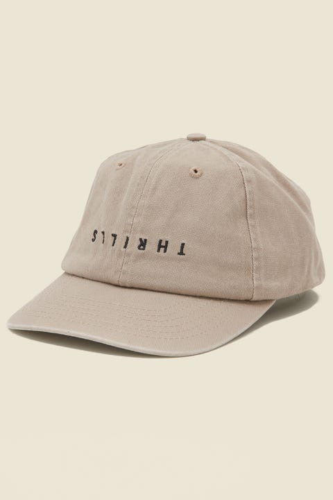 THRILLS Minimal Cap Oxford Tan