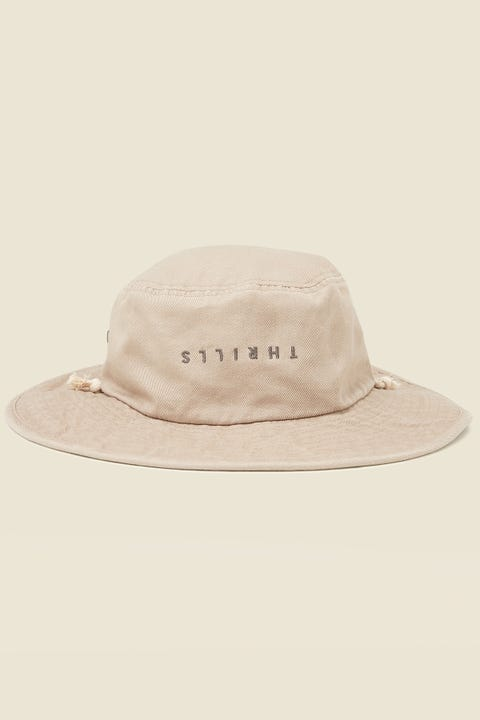THRILLS Minimal Boonie Hat Oxford Tan