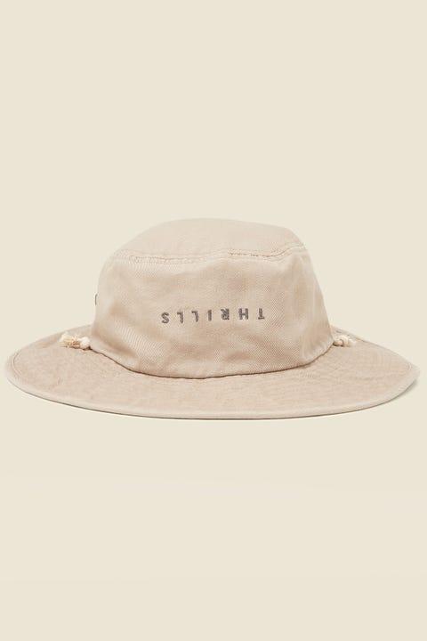 THRILLS Minimal Boonie Hat Oxford Tan