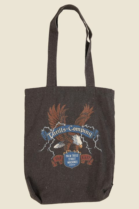 THRILLS Electric Eagle Tote Merch Black