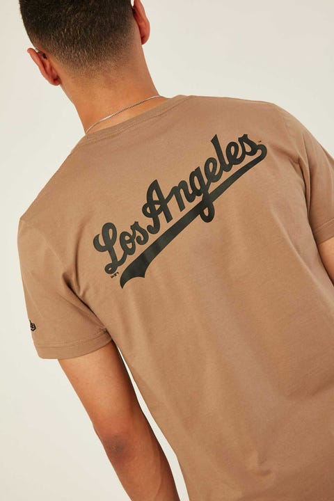 NEW ERA LA Dodgers Seasonal League Tee Khaki
