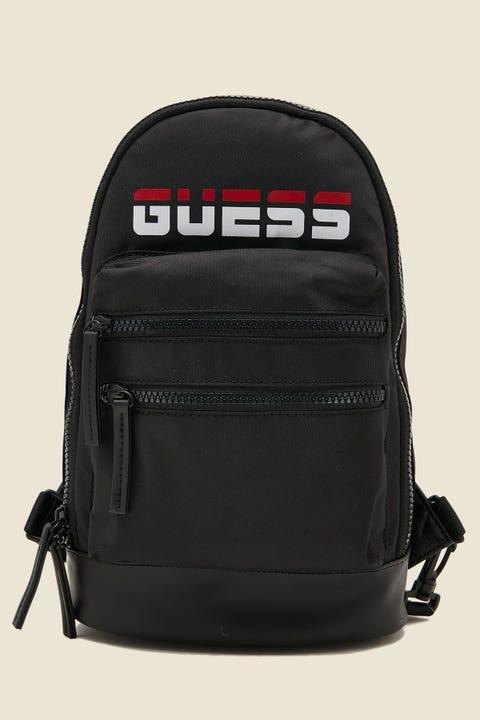 GUESS ORIGINALS Duo Sling Backpack Black